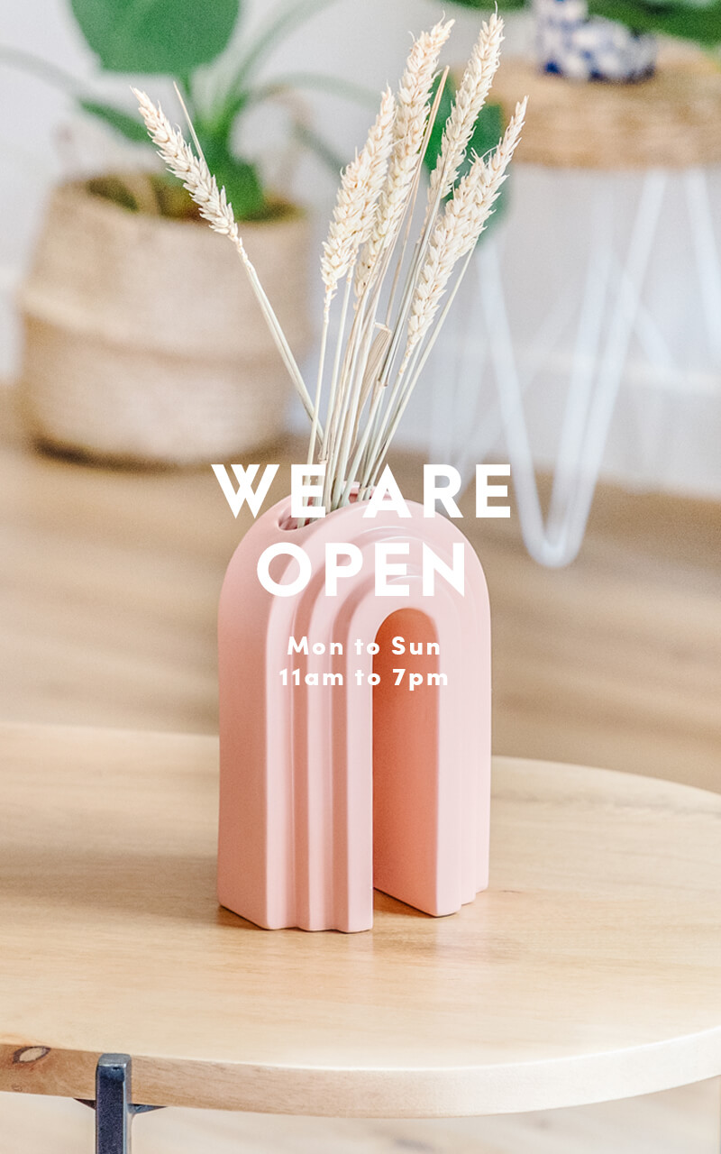 We are open everyday