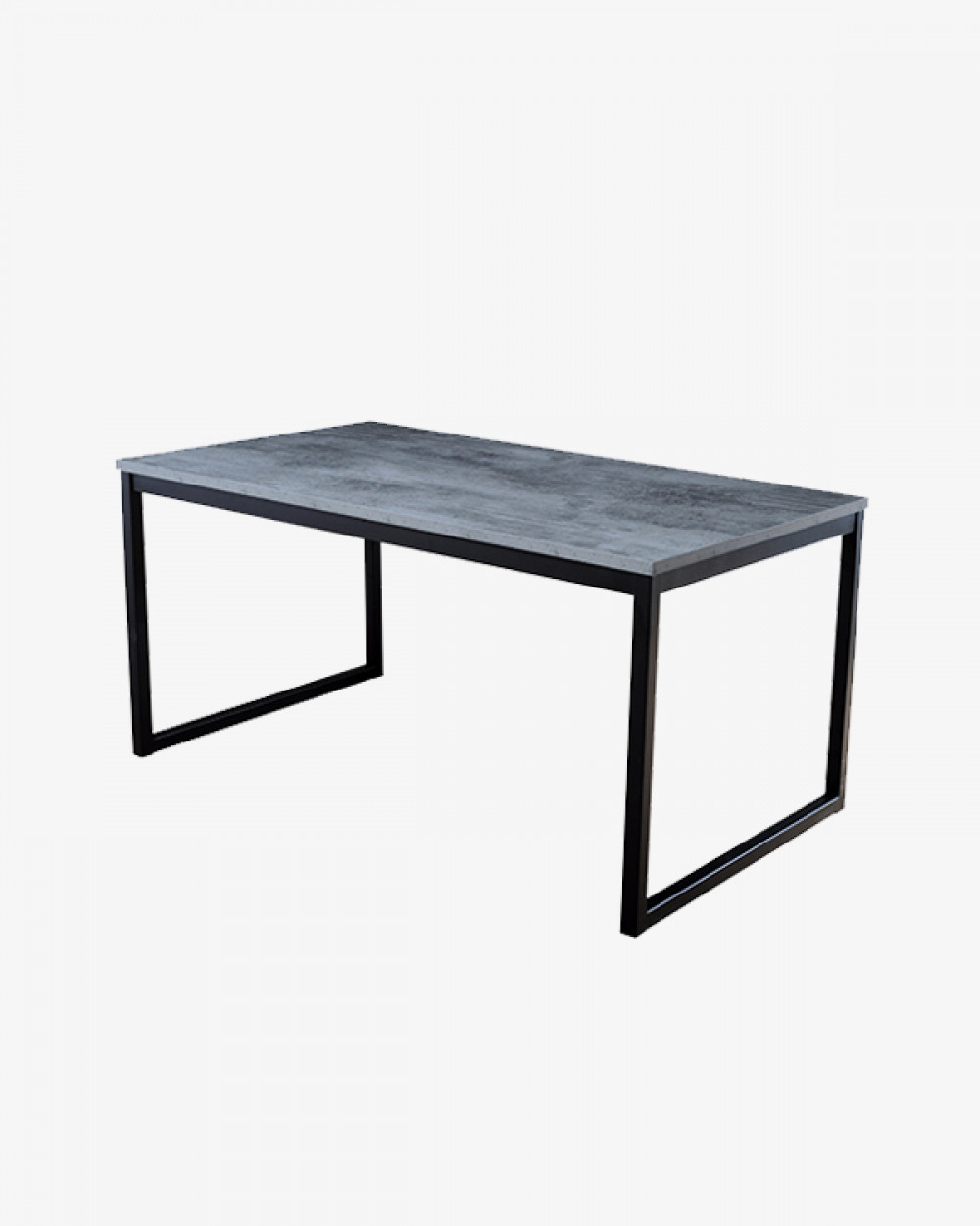 Clifton Dining Table | Iron Slate