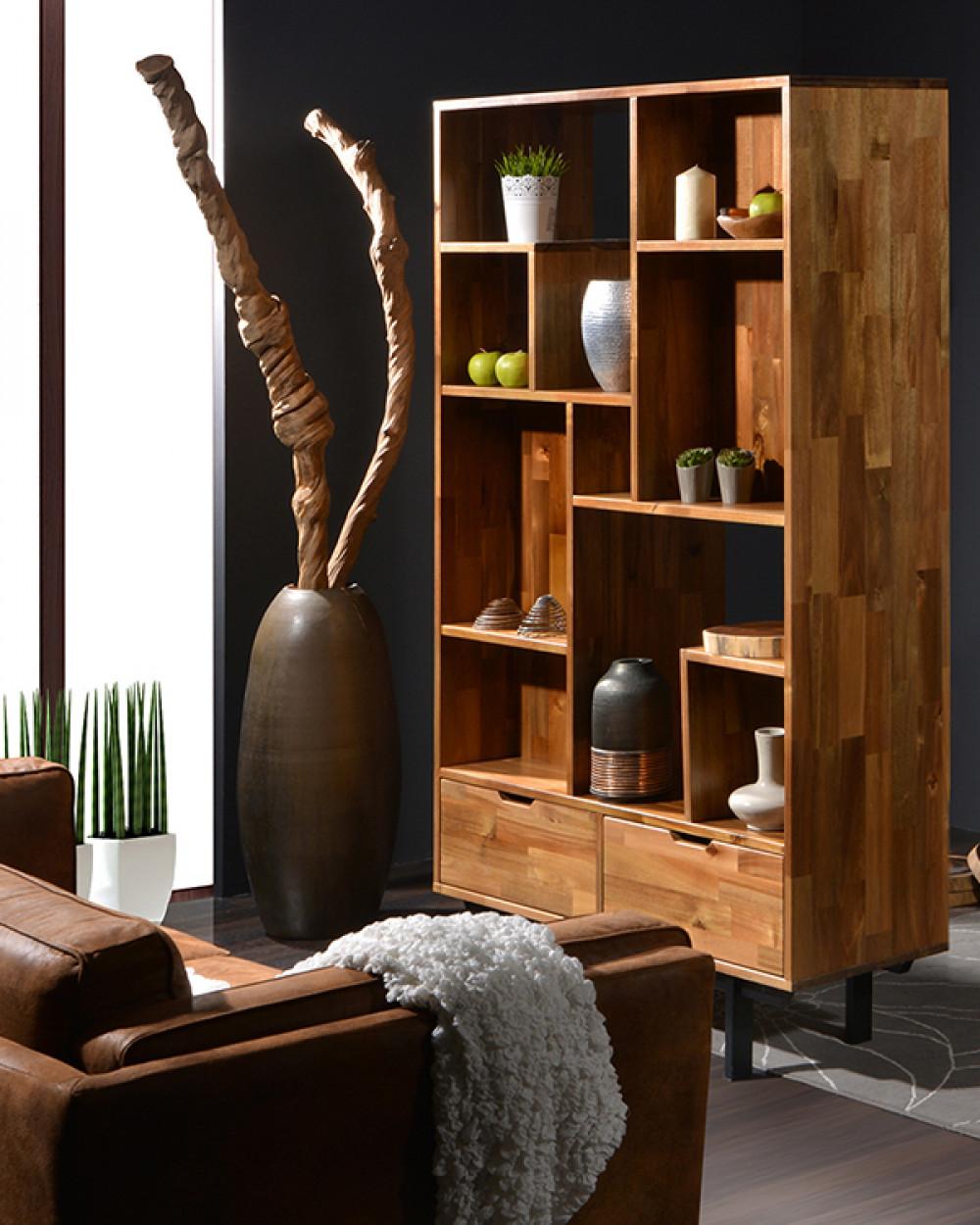 Acacia Londoner Display Cabinet