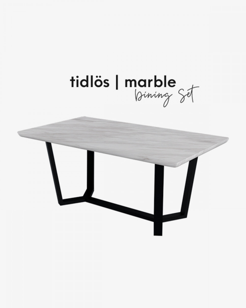 Bre Marble Dining Table TM0312
