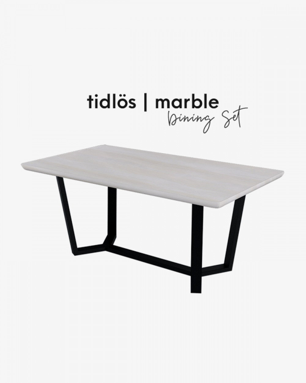 Bre Marble Dining Table TM3112