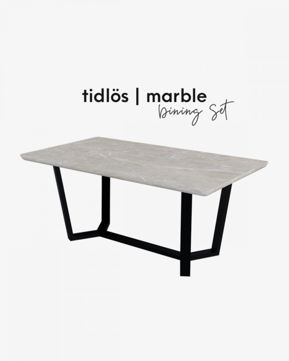 Bre Marble Dining Table TM4118