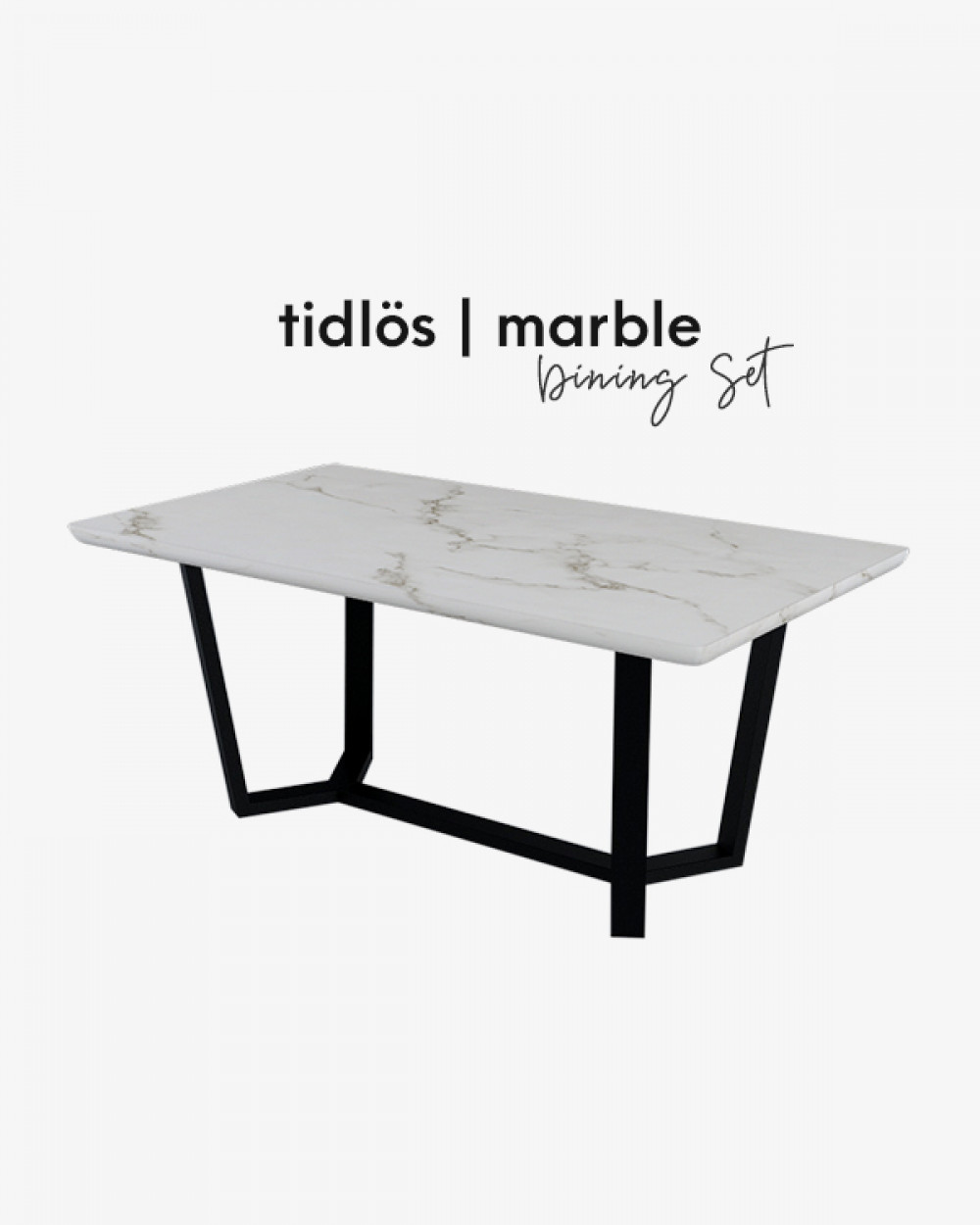 Bre Marble Dining Table TM4418