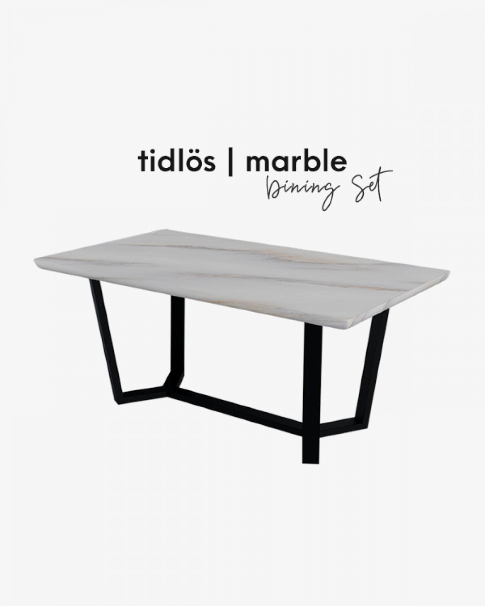 Bre Marble Dining Table TM4518
