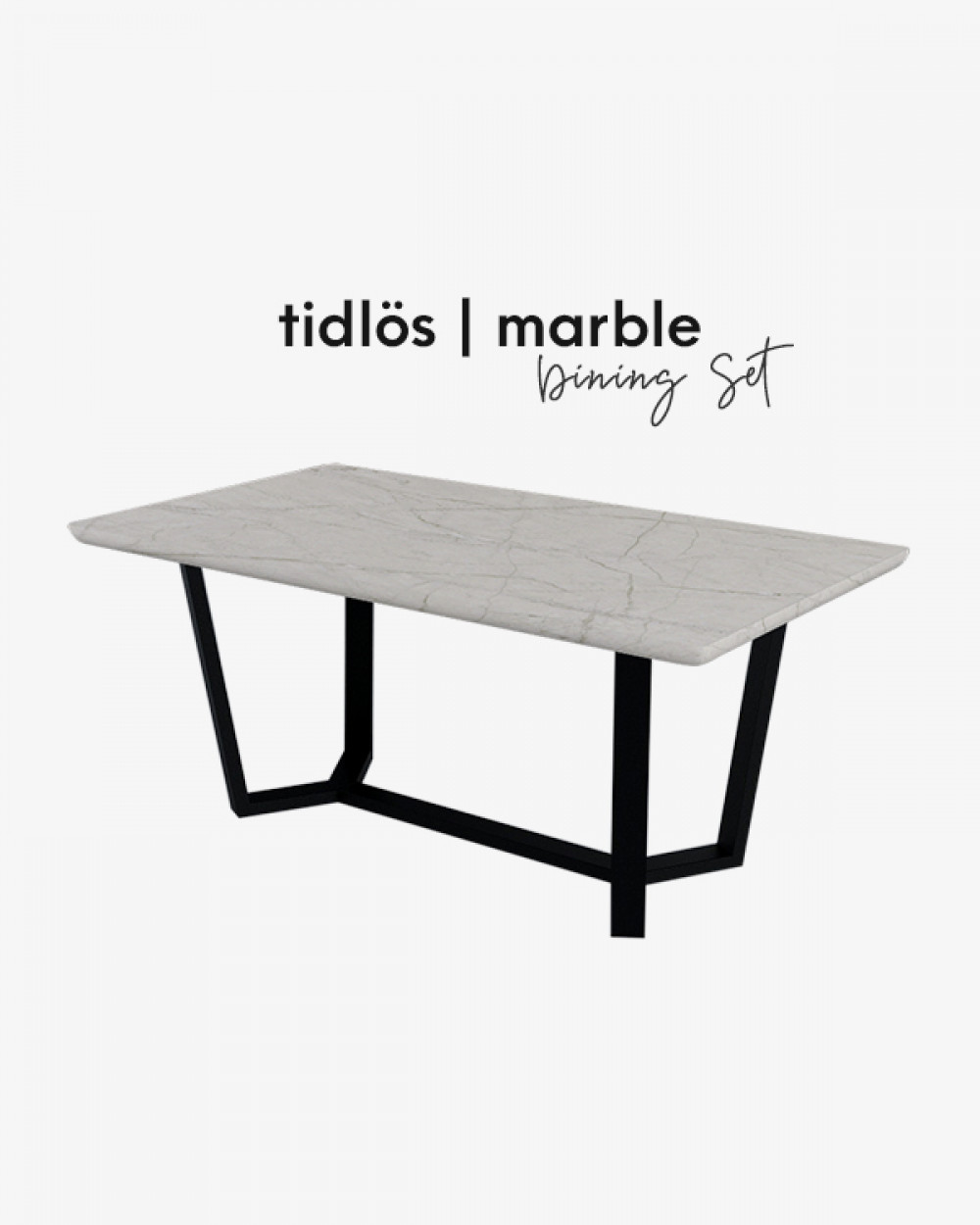 Bre Marble Dining Table TM4618