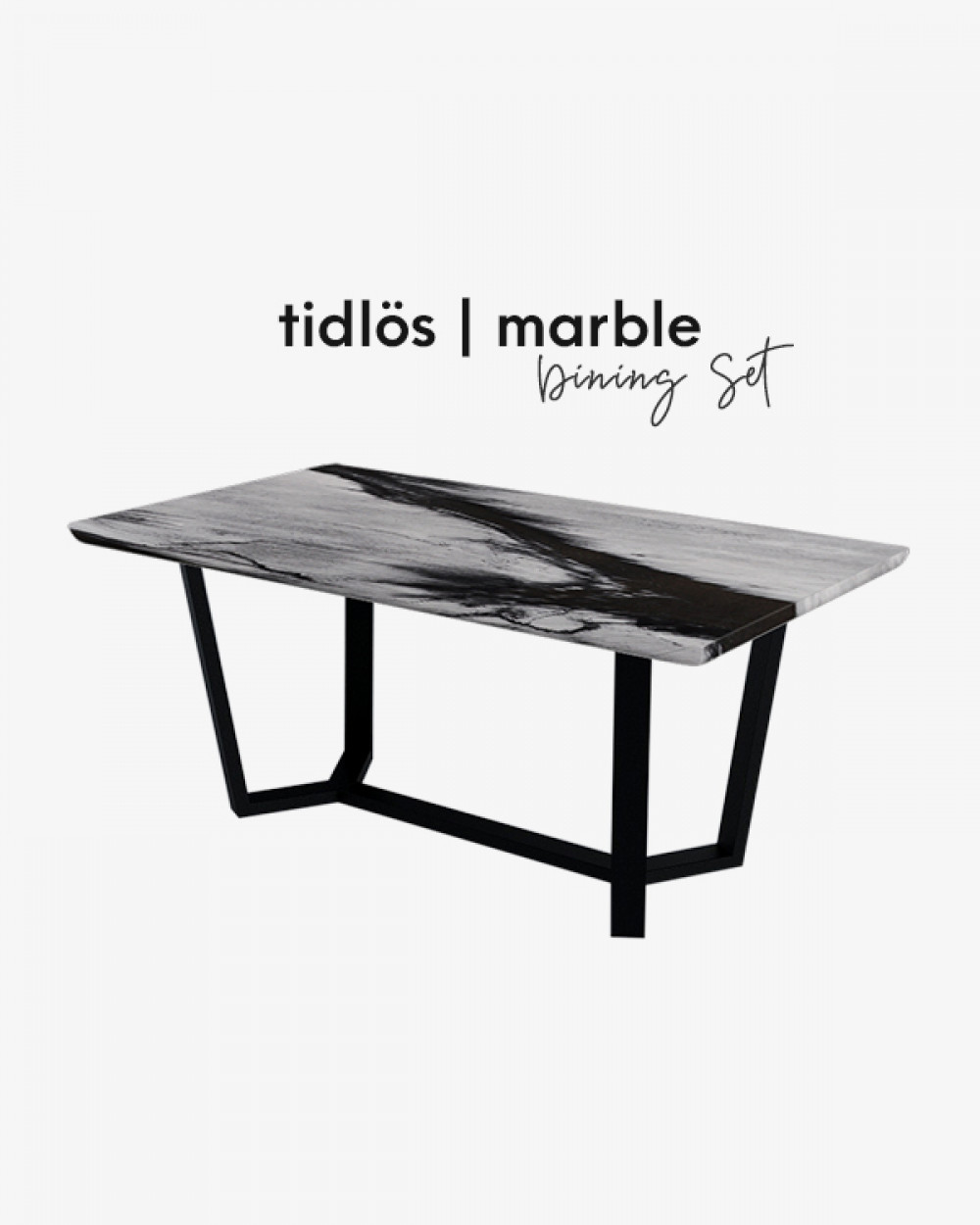 Bre Marble Dining Table TM5718