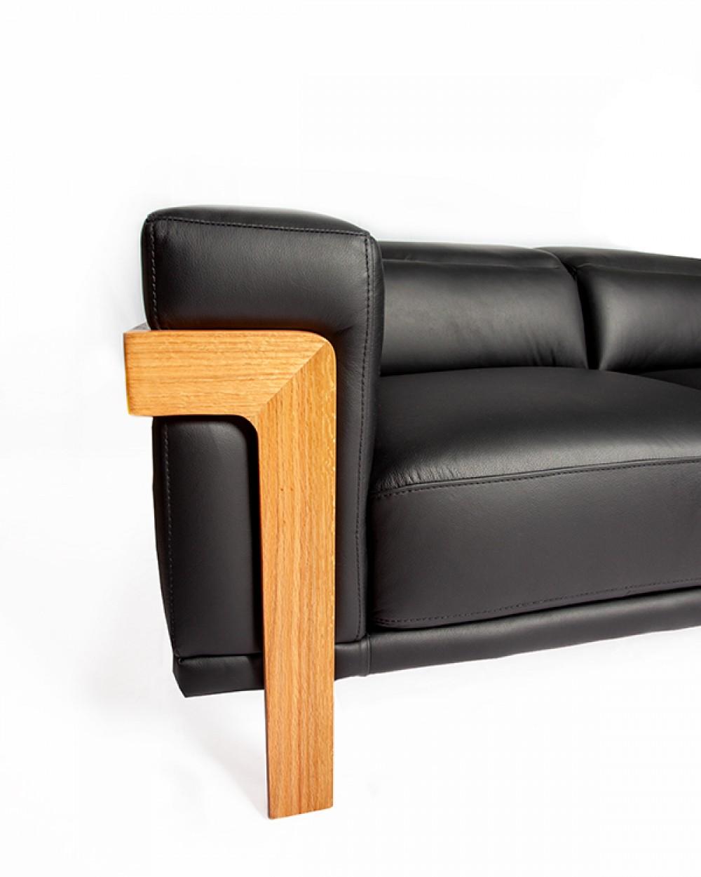 2.5 Seater | Luxuös Sofa (Black)