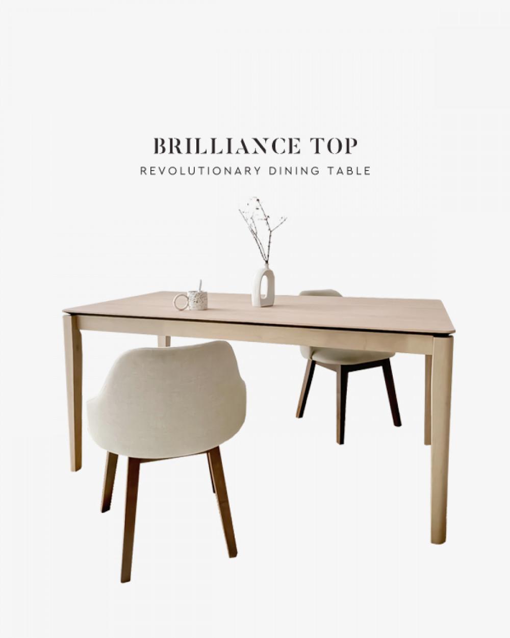 Brilliance Top | Kleberg Dining Table, Artisan Oak