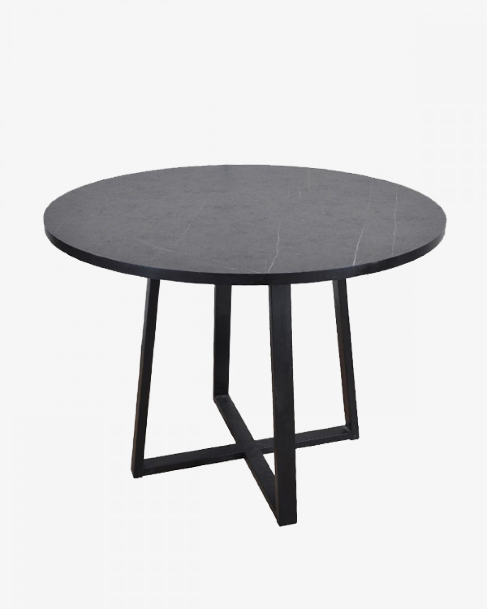 Clarks Round Dining Table | Grey Stone