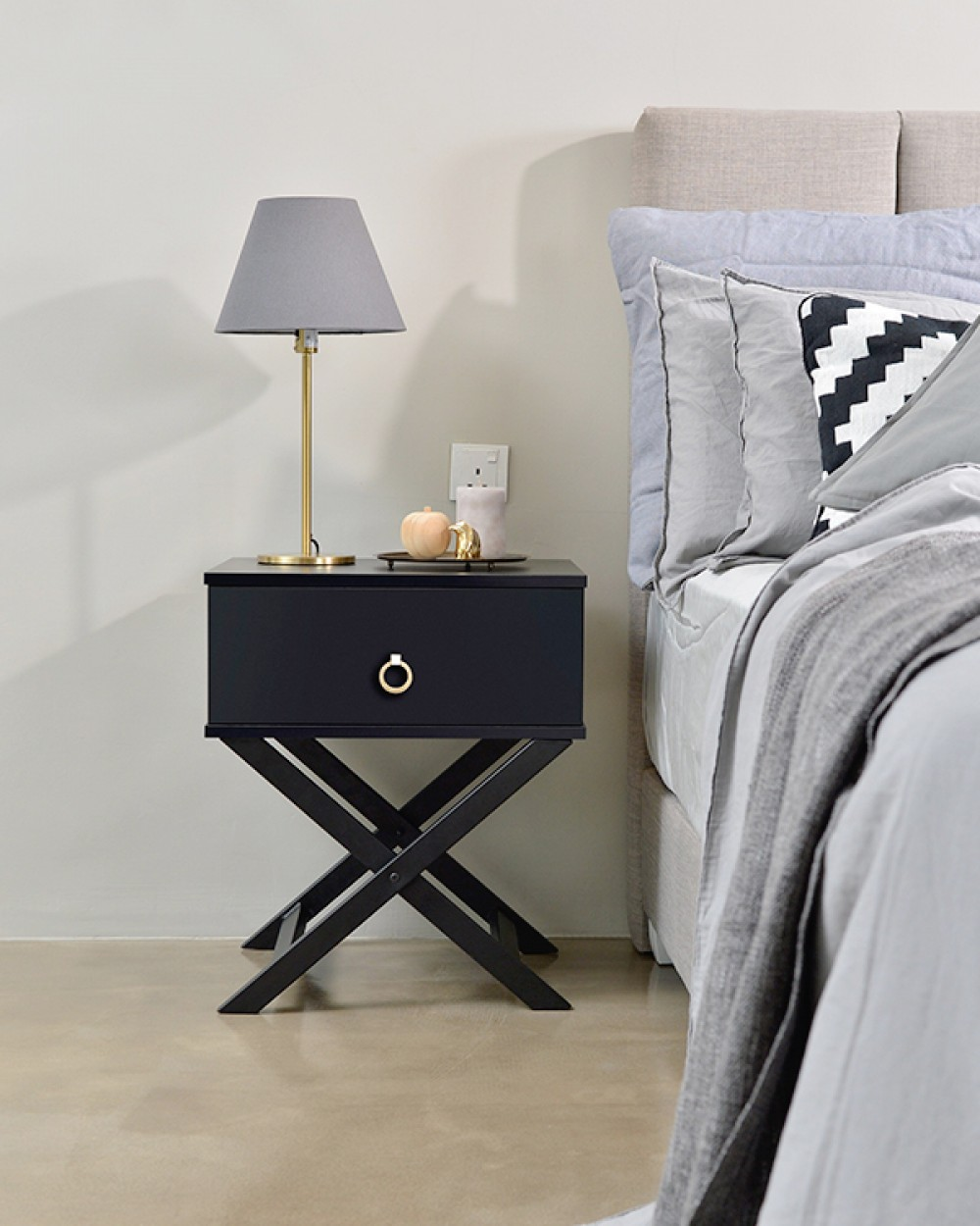 Twints Bedside Table