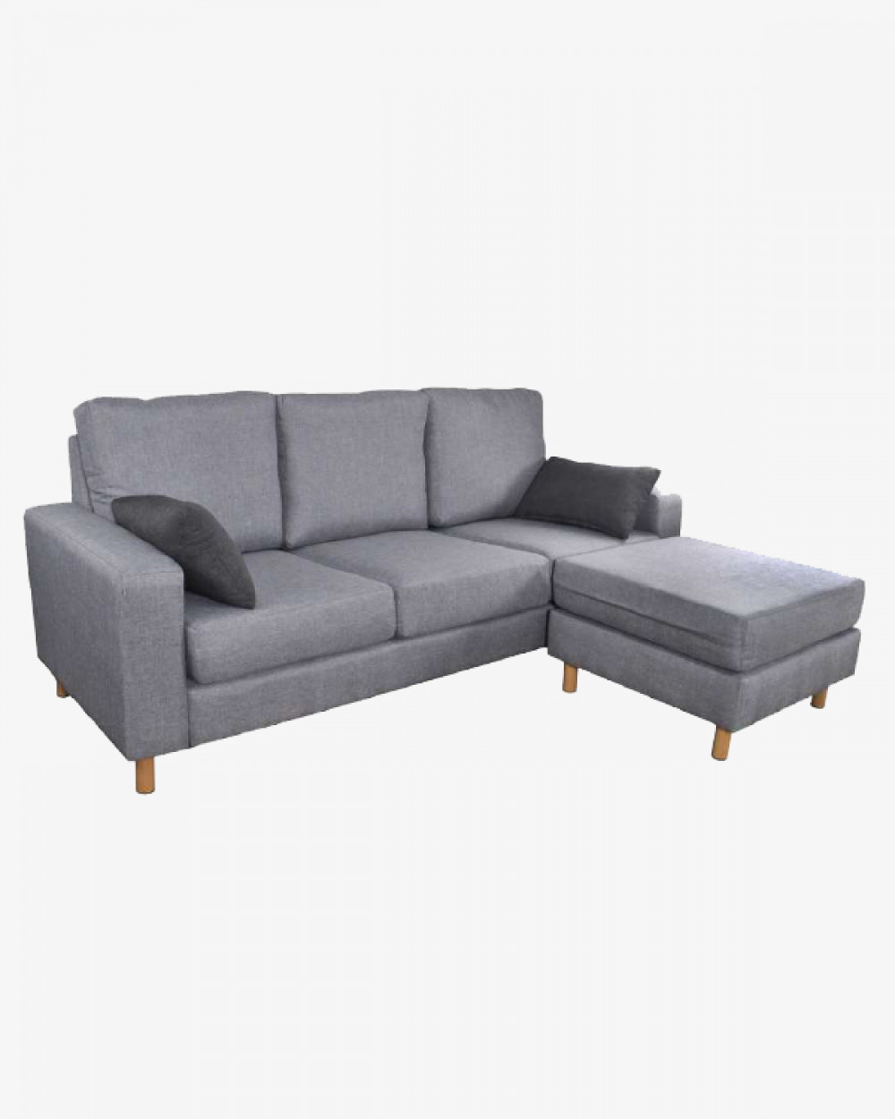 Avery Sofa & Ottoman I 3 Seater