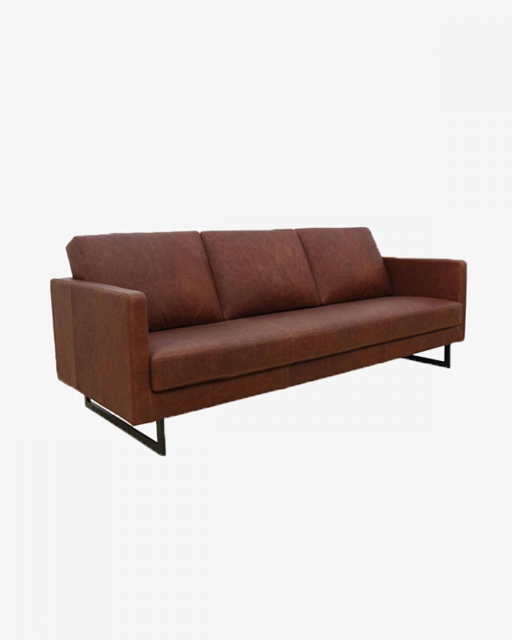 3 Seater | Carlo Maria Leather Sofa
