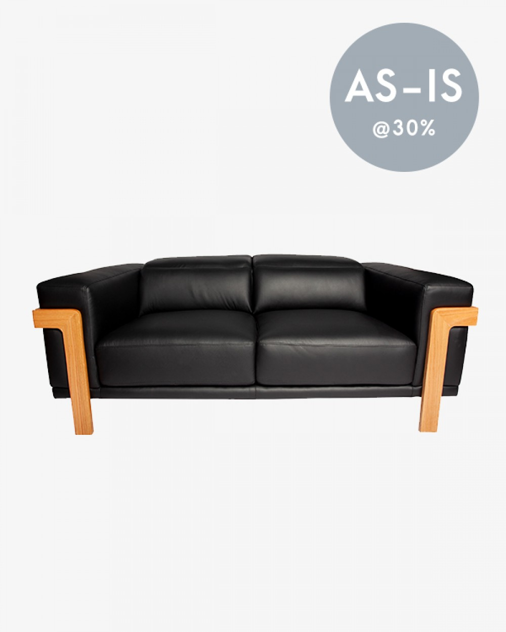 2.5 Seater | Luxuös Sofa (Black)